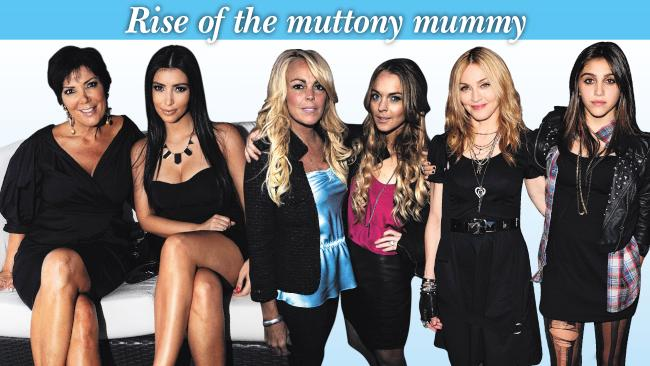 Yummy Mummy, MILF and now, Muttony Mummy?