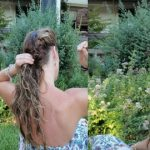 The 5 step side pony (that works best on messy hair!)