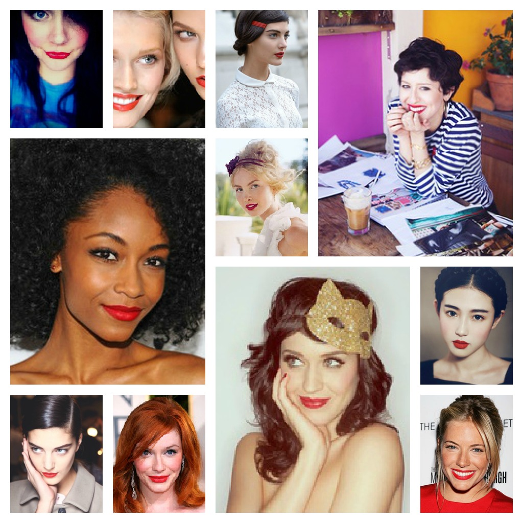 You Can Wear a Red Lip With an Eye Look—And We Can Prove It pictures