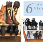 6 ways to store shoes