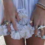 Rings on her fingers, and bells on her toes…