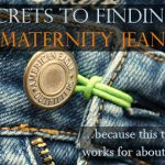 12 of the Best Maternity Jeans Online {PLUS} 4 Secrets To Finding The Perfect Pair