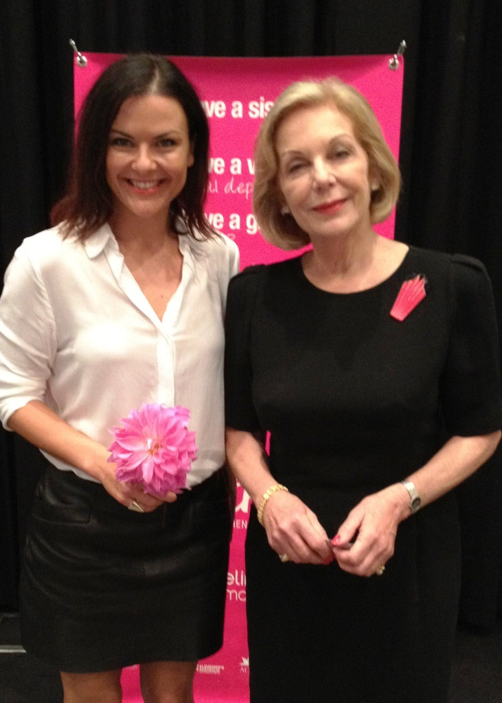 Ita Buttrose and Andrea Michelle from Fox in Flats