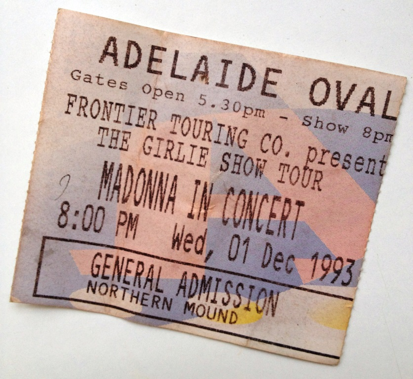 Madonna in Concert The Girlie Tour