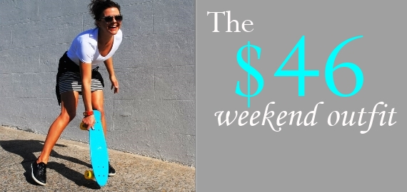 the $46 weekend oufit