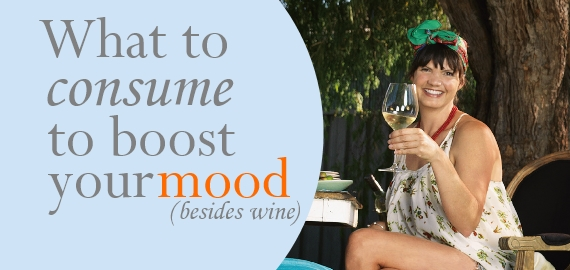 what to consumer to boost your mood (besides wine)