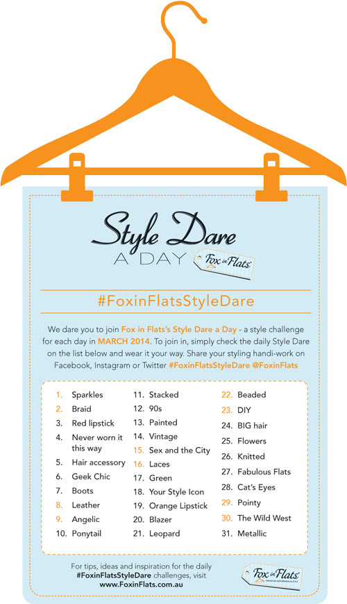 Fox in Flats Style Dare March 2014