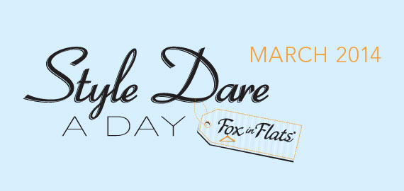 Fox in Flats Style Dare March