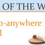 The go-anywhere sandal