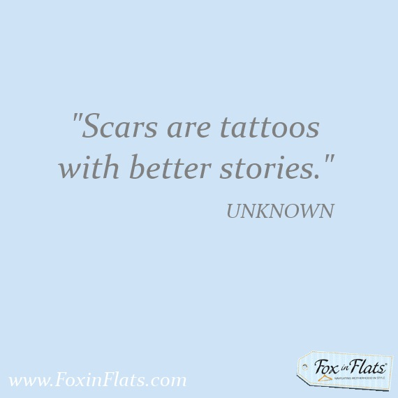 scars like tattoos