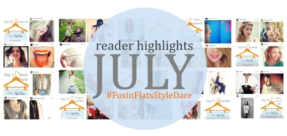 reader highlights july fox in flats style dare