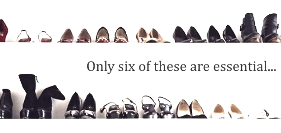 six essential shoes