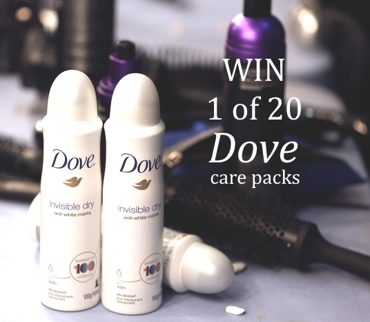 WIN Dove invisible dry care pack