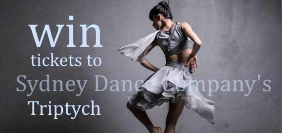 win tickets to Sydney Dance Company's Triptych